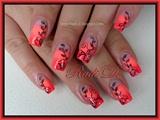 Neon Gradient & Flowers