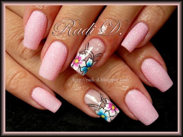 Pink like candy- floss