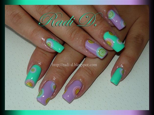 Colorful Pastel Circles