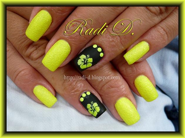 Yellow Neon Sand
