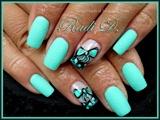 Mint Sand & Bows