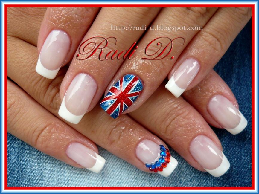 The British Flag - Nail Art Gallery