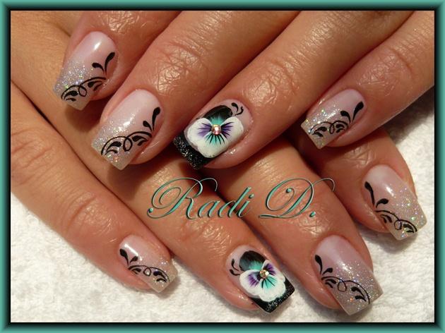 Sparkle & Violets