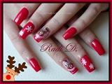 Reindeer & Snowflakes