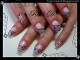 Stamped Flowers- Lace