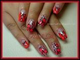 Neon Curtains & Butterflies
