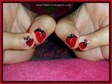 My little girl`s ladybugs :)