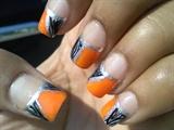 Zebra and orange!