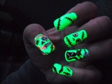 self portrait zombie nail