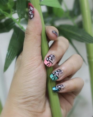 Nail art inspired by RadiD! :)