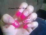 hot pink spinner