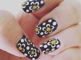 nail art: Flower