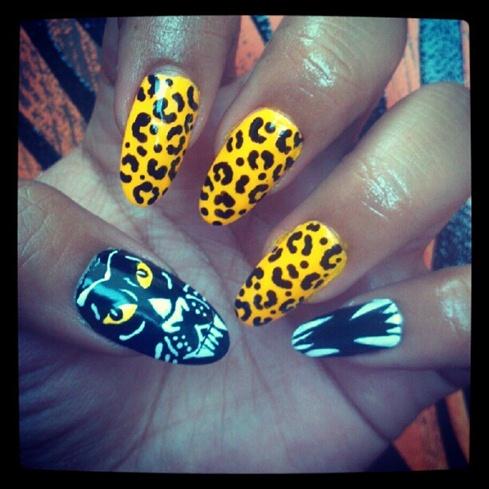 Fierce Feline Nails