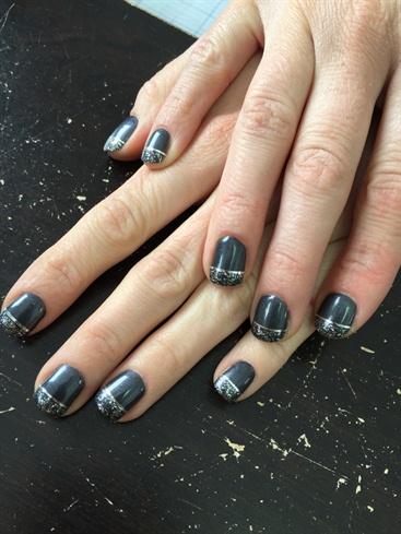 Charcoal & Sparkle