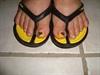 Brito's Colors on toenail