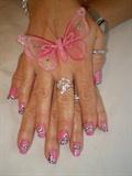 pink leopard design