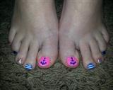 Anchor Toe Nails