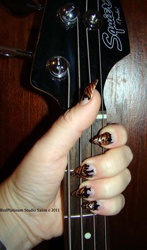 Rock n' Roll Tiger Nails