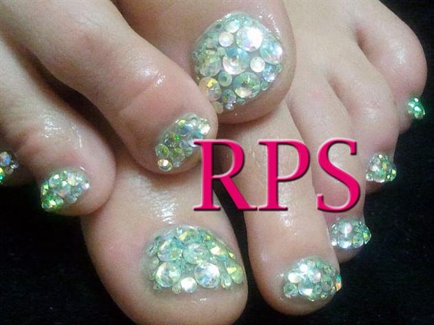 Swarovski Crystal Gel Toes
