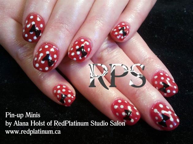 Pin Up Minis Nail Art Gallery