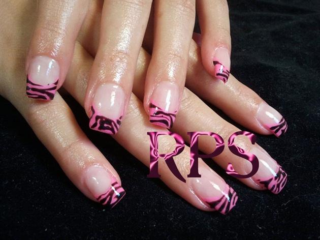 Florescent Zebra