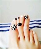 China Shellac Nail Art design