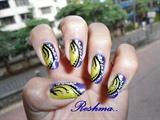 my nail art...