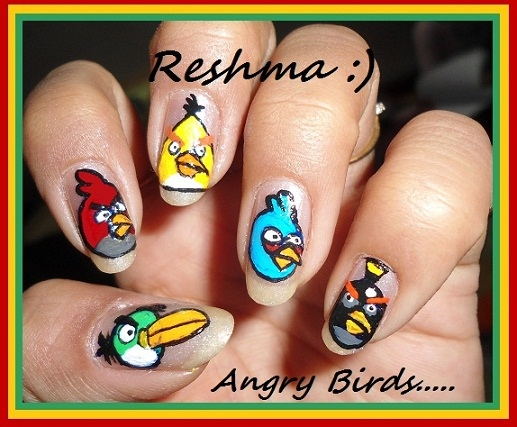 angry birds.. :)