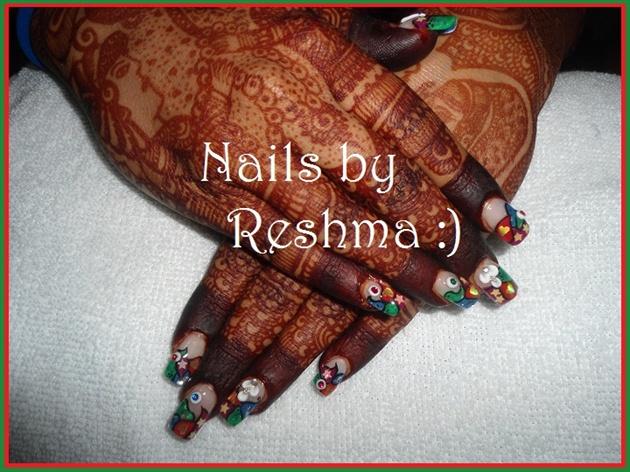 Nail Extension., :)