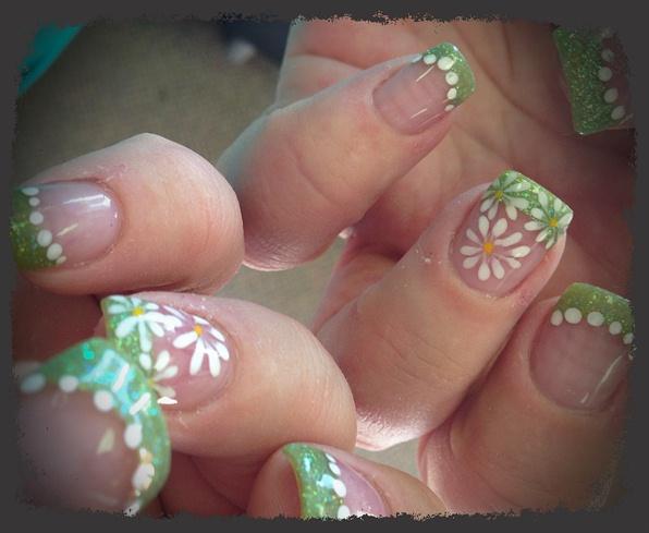 Spring nails art