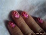 pink flower design