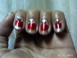apple nail art..