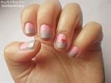 Valentine's Day Manicure #1