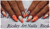 peach flowers 3d