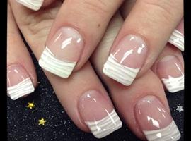nail art: White Zebra