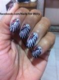butterfly/zebra