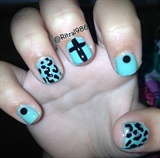 Leopard, Cross & Studs