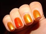 Gold & Orange Stamping