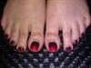 Gel Polish toes