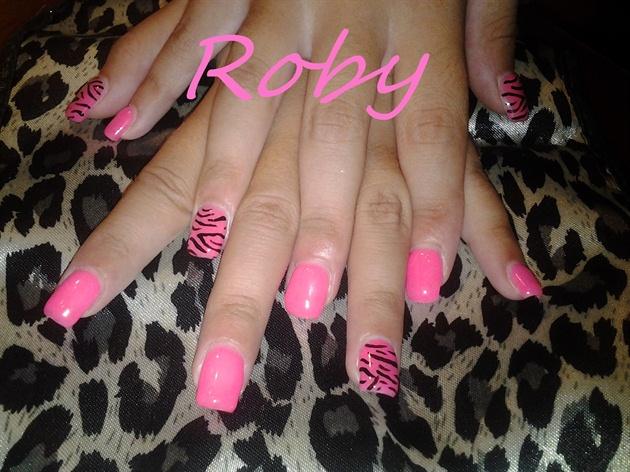 tigrato rosa neon