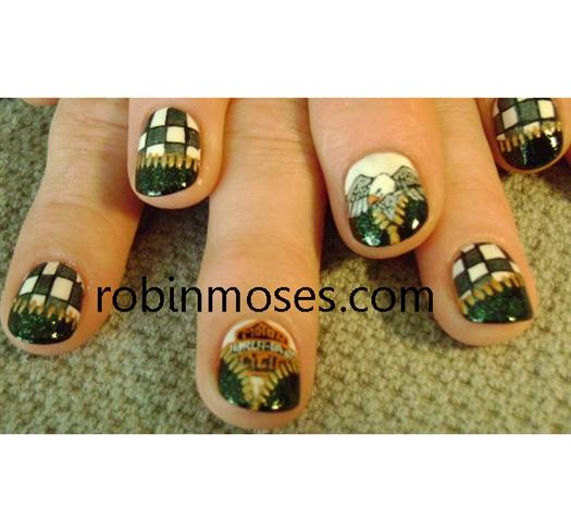 davidson finger nail harley davidson biker nails nail art gallery