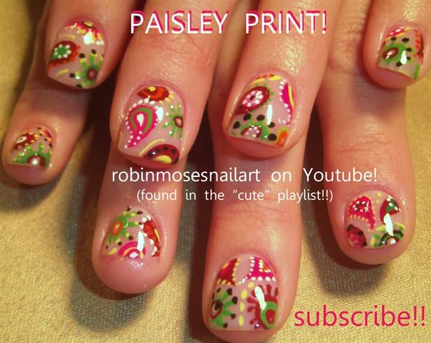 Robin Moses Nail Art U0026quotflower Nail Artu0026quot U0026quot