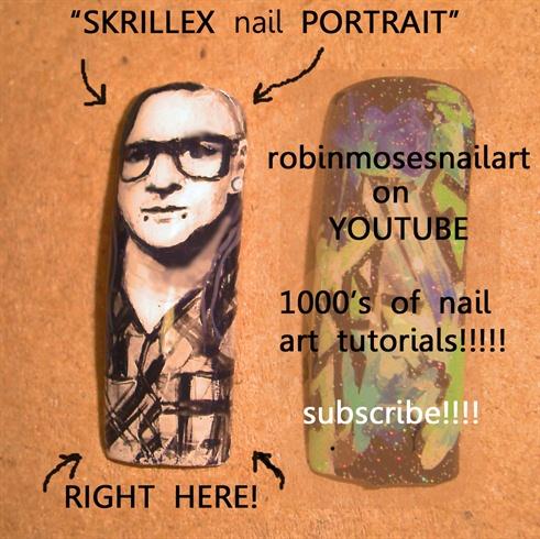 SKRILLEX PORTRAIT