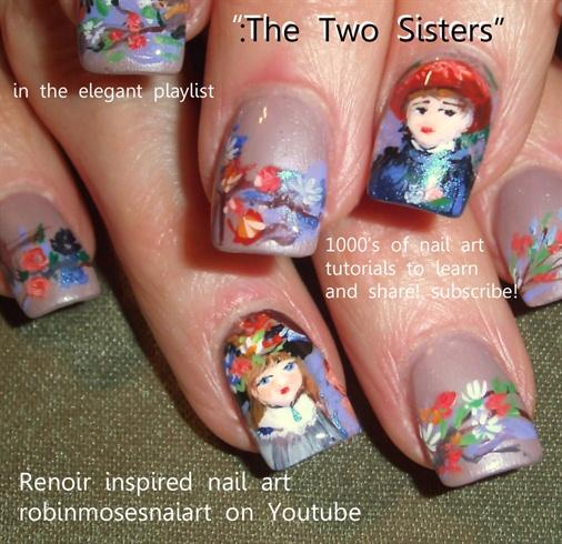 renoir 'two sisters' tutorial or video.
