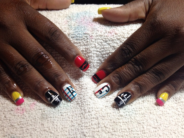 School Teacher Nails