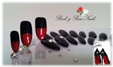 Louboutin Style Stiletto Nails Gel Cured