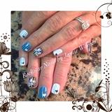 Pinstripe Black & Blue