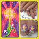 Custom Easter Nails