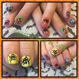Tiny Halloween Nails