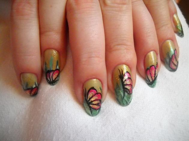Butterflies in the grass2